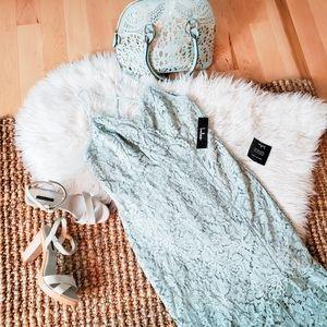 Lulu's mint lace dress